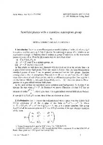Semifield planes with a transitive autotopism group