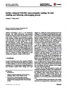 SiC nano-composite coatings via laser cladding and following cold-swaging process
