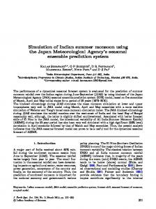 Simulation of Indian summer monsoon using the Japan Meteorological Agency's seasonal ensemble prediction system