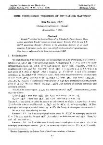 Some coincidence theorems of set-valued mappings