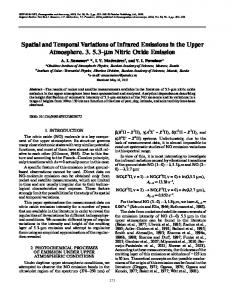 Spatial and Temporal Variations of Infrared Emissions in the Upper Atmosphere. 3. 5.3-μm Nitric Oxide Emission