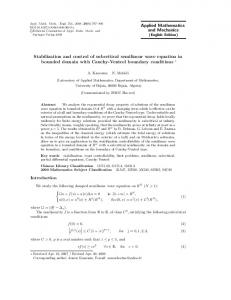 Stabilization and control of subcritical semilinear wave equation in bounded domain with Cauchy-Ventcel boundary conditions