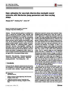 State estimation for uncertain discrete-time stochastic neural networks with Markovian jump parameters and time-varying delays