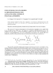 Study of the reaction of 3,5-diamino-4-carbomethoxypyrazole with acetoacetic ester. Synthesis of pyrazolo[1,5-a]pyrimidine