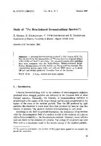 Study of147Pm beta-induced bremsstrahlung spectra