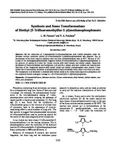 Synthesis and some transformations of diethyl (5-trifluoromethylfur-2-yl)methanephosphonate