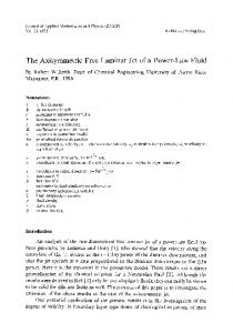 The axisymmetric free laminar jet of a power-law fluid