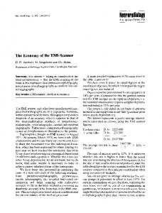 The economy of the EMI-scanner