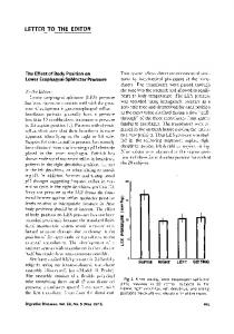 The effect of body position on lower esophageal sphincter pressure
