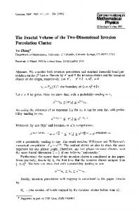 The fractal volume of the two-dimensional invasion percolation cluster