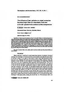 The influence of heat radiation on mixed convection boundary layer flow of a viscoelastic fluid over a circular cylinder with constant surface temperature