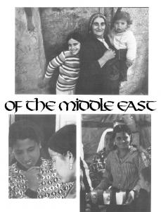 The many faces of the middle east