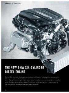 The New BMW Six-Cylinder Diesel Engine