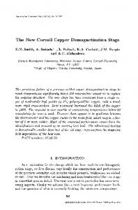 The new cornell copper demagnetization stage