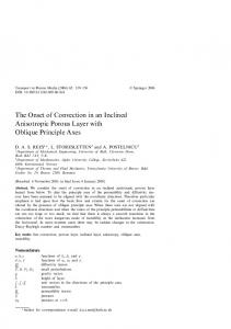 The Onset of Convection in an Inclined Anisotropic Porous Layer with Oblique Principle Axes