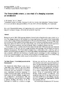 The Oosterschelde estuary, a case-study of a changing ecosystem: an introduction