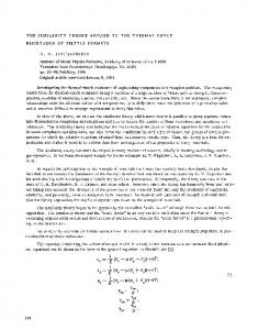 The similarity theory applied to the thermal shock resistance of brittle cermets