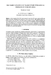 The third catalogue of nearby stars with special emphasis on wide binaries