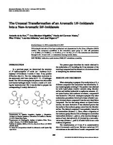 The Unusual Transformation of an Aromatic 1H-Imidazole into a Non-Aromatic 2H-Imidazole