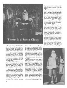 There is a Santa Claus