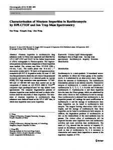 TOF and Ion Trap Mass Spectrometry