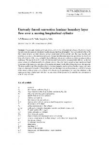 Unsteady forced convection laminar boundary layer flow over a moving longitudinal cylinder