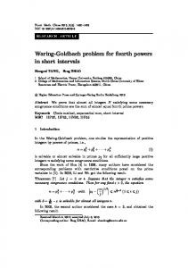 Waring-Goldbach problem for fourth powers in short intervals